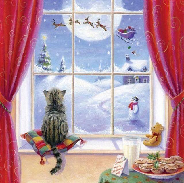 frohe weihnachten aboutsevencats. Black Bedroom Furniture Sets. Home Design Ideas